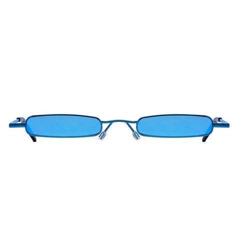 Christianah Jones - Aaliyah Blue Sunglasses / Blue Lenses
