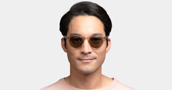 Garrett Leight - Boccaccio Khaki Tortoise Sunglasses / Yellow Brown Gradient Lenses