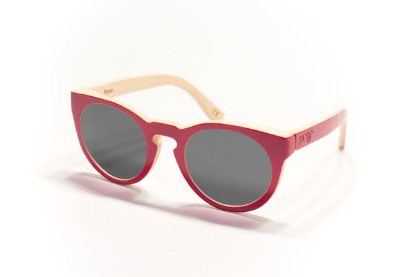 Proof Bogus Red Bamboo Sunglasses