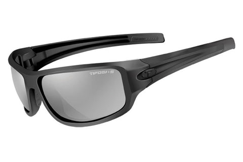 Tifosi - Bronx Tactical Matte Black Sunglasses, Smoke Lenses