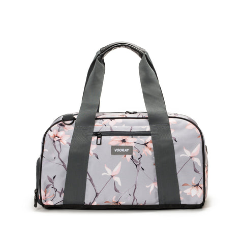 Vooray - Burner Gym Gray Cherry Blossom Duffel Bag