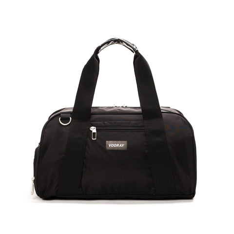 Vooray - Burner Gym Black Nylon Duffel Bag