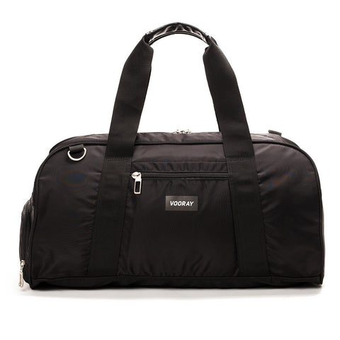 Vooray - Burner Sport Black Nylon Large Duffel Bag