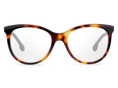 Carrera - 5545 Light Havana Black Eyeglasses / Demo Lenses