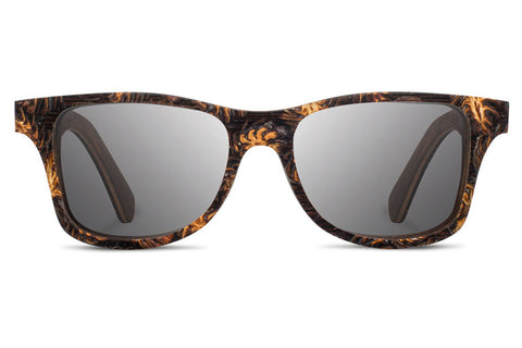 Shwood - Canby Pinecone / Grey Polarized Sunglasses