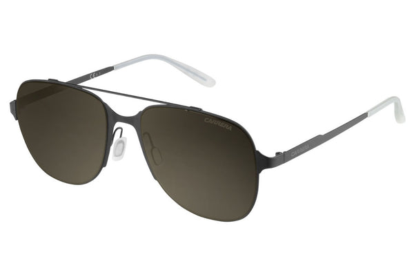 Carrera - 114/S Matte Black Sunglasses, Brown Lenses