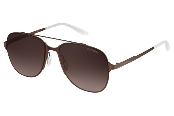 Carrera - 114/S Semi Matte Brown Sunglasses, Brown Gradient Lenses