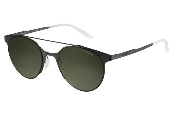 Carrera - 115/S Matte Black Sunglasses, Green Lenses
