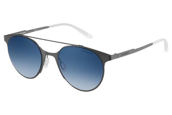 Carrera - 115/S Matte Gray Sunglasses, Blue SF Gray Lenses