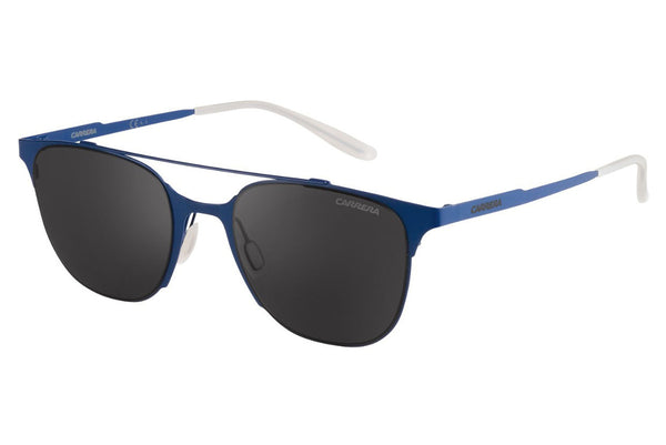 Carrera - 116/S Matte Blue Sunglasses, Gray Lenses