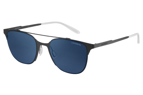 Carrera - 116/S Matte Gray Sunglasses, Blue SF Gray Lenses