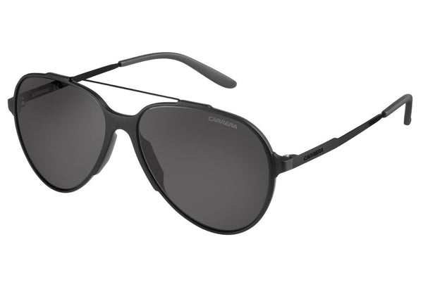 Carrera - 118/S Matte Black Sunglasses, Gray Lenses