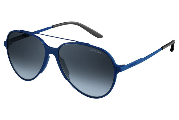 Carrera - 118/S Blue Sunglasses, Gray Gradient Lenses