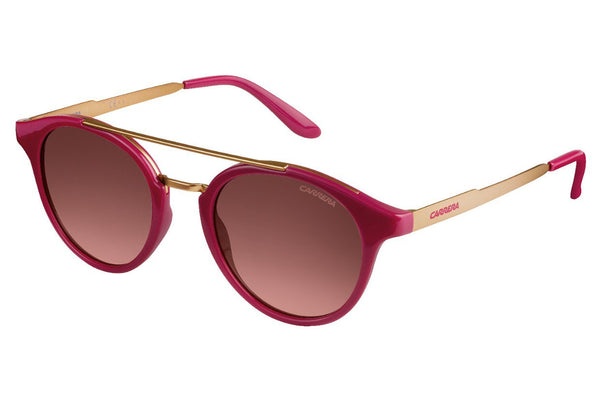 Carrera - 123/S Cherry Gold Sunglasses, Brown Pink Gradient Lenses
