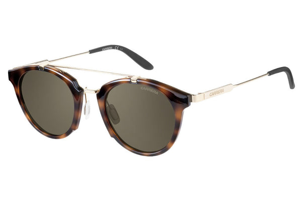 Carrera - 126/S Havana Gold Sunglasses, Brown Lenses