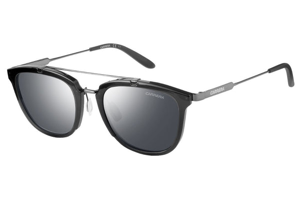 Carrera - 127/S Gray Ruthenium Sunglasses, Black Mirror Lenses