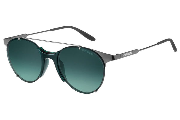 Carrera - 128/S Dark Ruthenium Sunglasses, Gray Green Lenses