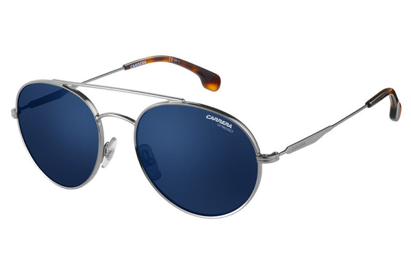 Carrera - 131/S Ruthenium Sunglasses, Blue Avio Lenses
