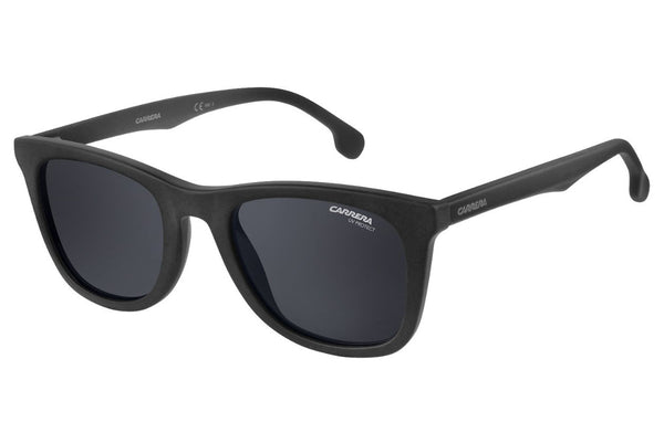 Carrera - 134/S Matte Black Sunglasses, Gray Blue Lenses