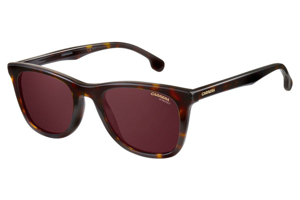 Carrera - 134/S Havanna Sunglasses, Burgundy Polarized Lenses