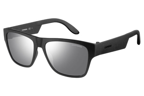 Carrera - 5002/ST Matte Black Sunglasses, Silver Mirror Lenses