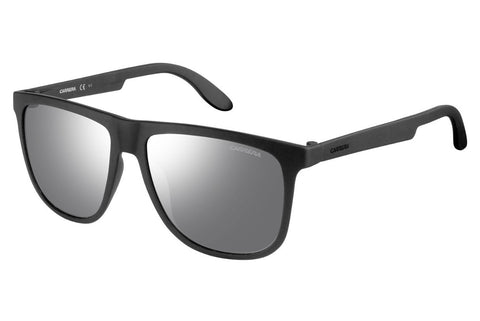 Carrera - 5003/ST Matte Black Sunglasses, Silver Mirror Lenses