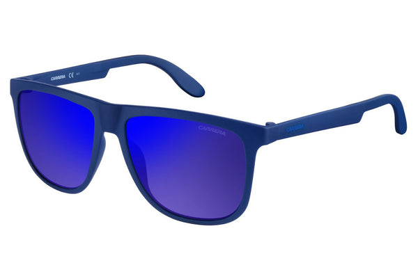 Carrera - 5003/ST Blue Sunglasses, Blue Sky Mirror Lenses