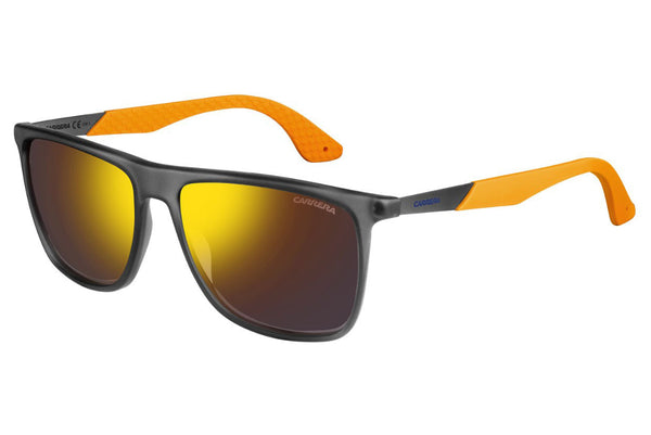 Carrera - 5018/S Gray Dark Ruthenium Sunglasses, Gold Lenses