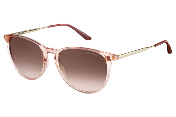 Carrera - 5030/S Pink Gold Sunglasses, Brown Mirror Gold Lenses
