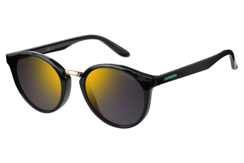 Carrera - 5036/S Drak Gray Sunglasses, Gunmetal Mirror Lenses