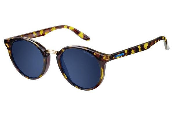 Carrera - 5036/S Havana Sunglasses, Blue Avio Lenses