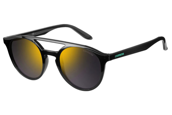 Carrera - 5037/S Dark Gray Sunglasses, Gunmetal Mirror Lenses