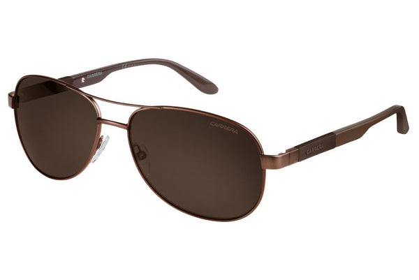 Carrera - 8019/S Matte Brown Sunglasses, Bronze Polarized Lenses