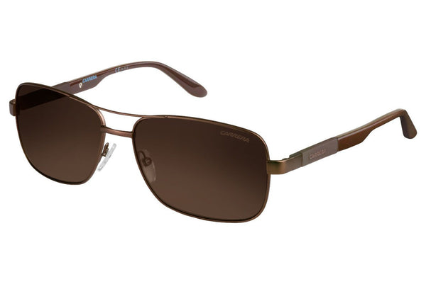 Carrera - 8020/S Matte Brown Sunglasses, Bronze Polarized Lenses