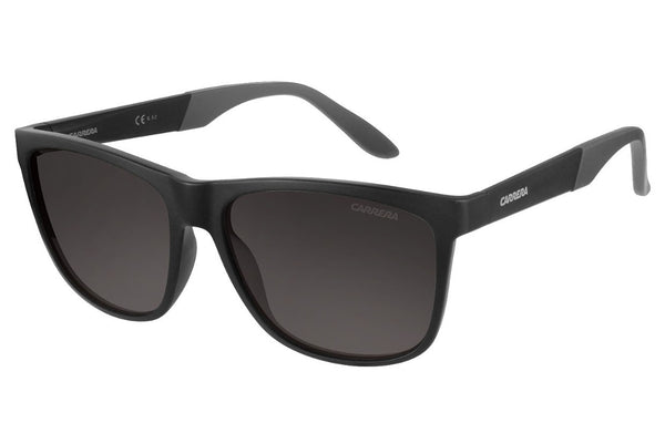 Carrera - 8022/S Matte Black Sunglasses, Gray Polarized Lenses