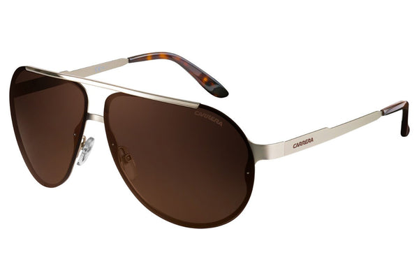 Carrera - 90/S Light Gold Sunglasses, Violet Lenses