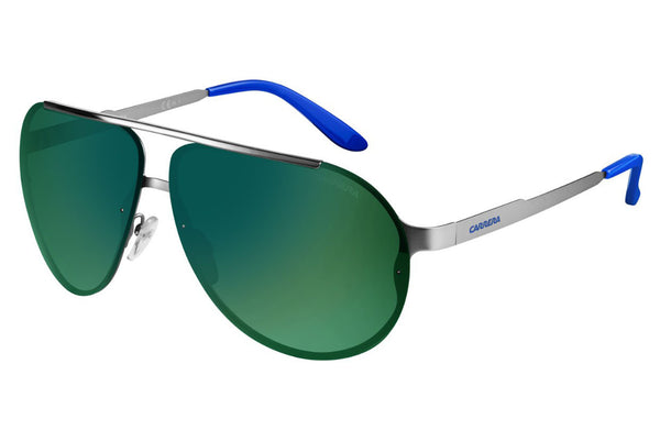 Carrera - 90/S Matte Ruthenium Sunglasses, Green Lenses