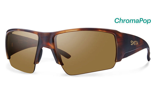 Smith - Captain's Choice Matte Havana Sunglasses, ChromaPop Polarized Brown Lenses