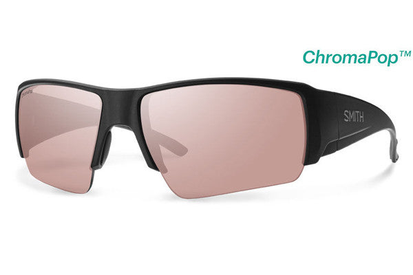Smith - Captain's Choice Matte Black Sunglasses, ChromaPop Polarchromic Ignitor Lenses