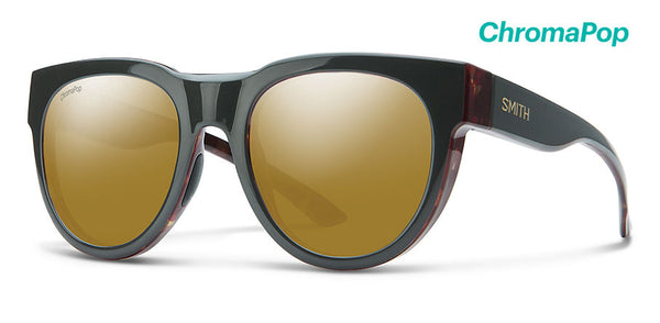80e6b4e10c Smith - Crusader Gravy Tortoise Sunglasses   ChromaPop Polarized Bronze  Mirror Lenses