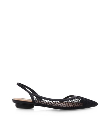 BiLLiNi - Women's Cece Black Mesh Flats