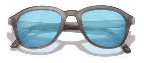 Sunski - Chalet Grey Sunglasses / Sky Mirror Lenses