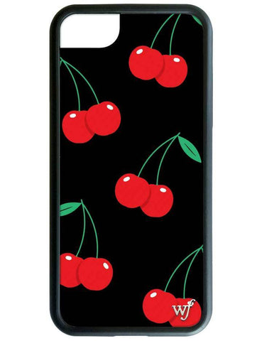 Wildflower - Black Cherry iPhone X Case