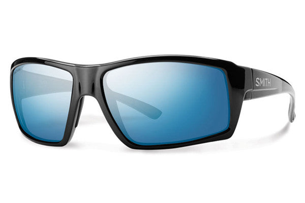 Smith - Challis Black Sunglasses, Techlite Polarized Blue Mirror Lenses