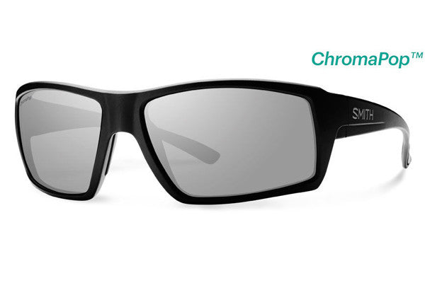 Smith - Challis Matte Black Sunglasses, ChromaPop Polarized Platinum Lenses