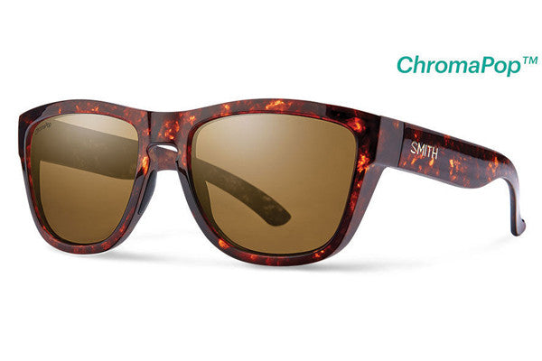 Smith - Clark Vintage Havana Sunglasses, ChromaPop Polarized Brown Lenses