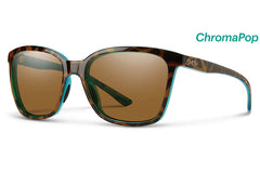 Smith - Colette Tort Marine Sunglasses, ChromaPop Polarized Brown Lenses