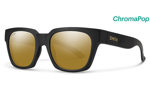 Smith - Comstock David Luiz Sunglasses, ChromaPop Polarized Bronze Mirror Lenses