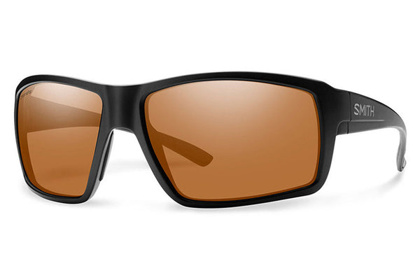 Smith - Colson Matte Black Sunglasses, ChromaPop Polarized Copper Lenses