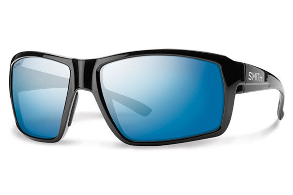 Smith - Colson Black Sunglasses, Techlite Polarized Blue Mirror Lenses